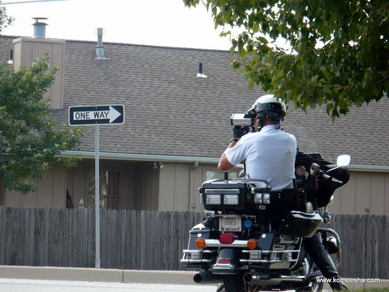 Overland Park Speeding Laser Police Officer Attorney Amendment